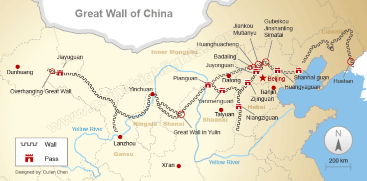 mapa muralha